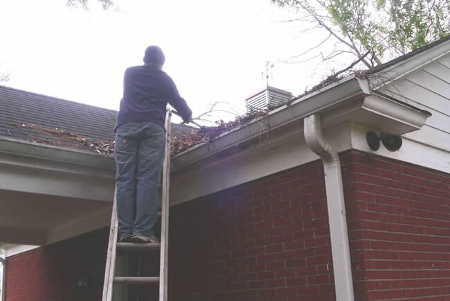 residential gutter cleaning Loudoun County